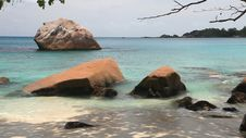 Free Tropical Beach Anse Lazio, Seychelles Stock Images - 36616784