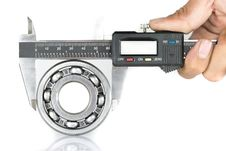 Free Vernier With Bearing Royalty Free Stock Images - 36619629