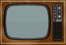 Free Old TV Stock Photo - 36619800