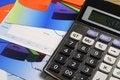 Free Chart, Calculator & Pen Stock Photos - 36623263