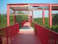 Free Red Iron Bridge Stock Images - 36626964