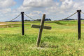 Free Graveyard Cross Stock Image - 36627211