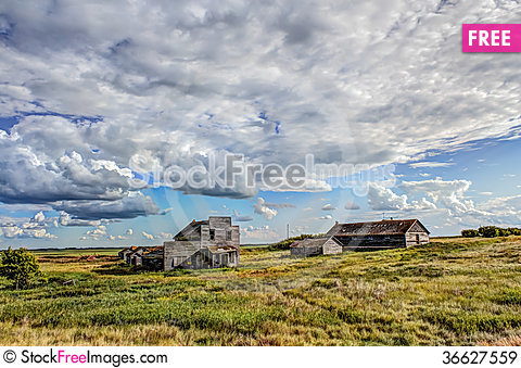 Free Ghost Town Royalty Free Stock Images - 36627559
