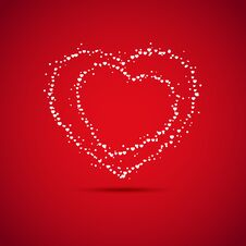 Valentine S Day Card Stock Photography