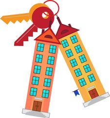 Free Building Keys. Royalty Free Stock Images - 36622169