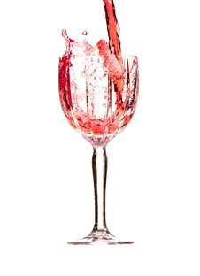 Free Vine In Crystal Glass Stock Image - 36624671