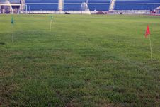 Free Soccer Field Maintenance Royalty Free Stock Photography - 36624917