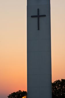 Free Steeple Sunset Stock Images - 36629524