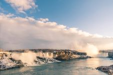 Free Niagara Falls Ready For Spectacular Sunset Royalty Free Stock Photography - 36629727