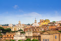 Free Morning View Over Roofs Of Rome Royalty Free Stock Images - 36632189
