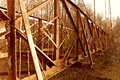 Free Rusty Bridge Royalty Free Stock Photo - 36639995