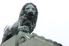 Lion Sculpture Stock Image