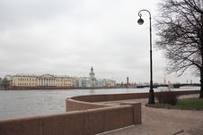 Free Embankment In St. Petersburg Stock Images - 36633464