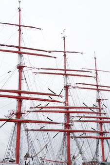 Free Sailing Ship Mast Royalty Free Stock Image - 36633476