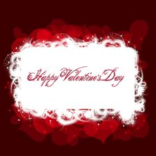 Free Valentine S Day Red Greeting Card Stock Photo - 36633860