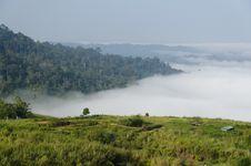 Free Fog And Mountain Royalty Free Stock Photo - 36638175
