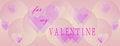 Free Panoramic Valentines Day Background Stock Photo - 36644610
