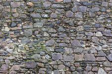 Free Wall Of The Sharp Stones Stock Photo - 36643330