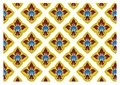 Free Thai Traditional Style Art Pattern Royalty Free Stock Photos - 36652048