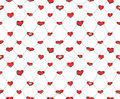 Free Sketch Hearts Net Royalty Free Stock Image - 36653036