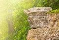Free Fragmet Antique Column In Sunlight Royalty Free Stock Photos - 36657258