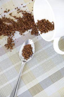 Free Splash Of Instant Coffee Stock Image - 36650911