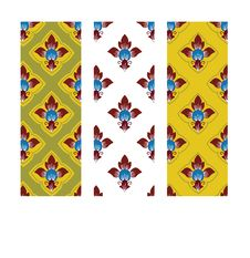 Thai Traditional Style Art Pattern Royalty Free Stock Photography