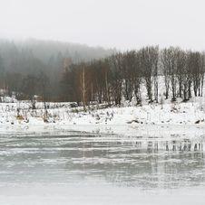 Winter Thaw Stock Photo