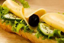 Free Big Sandwich Stock Photo - 36653420