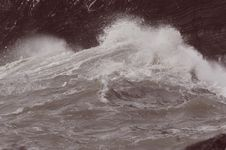 Free Storm Sea Royalty Free Stock Image - 36654966