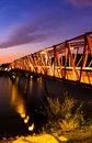 Free Bridge At Dawn Stock Photo - 36661640