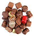Free Assorted Fine Chocolates Royalty Free Stock Photos - 36662158