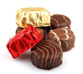 Free Assorted Fine Chocolates Royalty Free Stock Image - 36662176