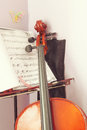 Free Learning Cello Royalty Free Stock Photo - 36663035
