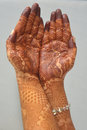 Free Indian Brides Hands With Henna Stock Image - 36667351