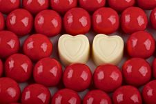 Free Valentine,s Day Candies Royalty Free Stock Photo - 36661965