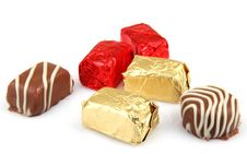 Free Assorted Fine Chocolates Stock Photos - 36662163