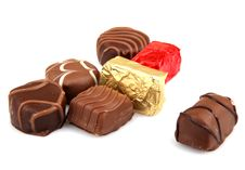 Free Assorted Fine Chocolates Stock Image - 36662181