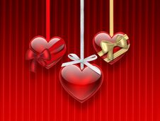Romantic Background Royalty Free Stock Photography