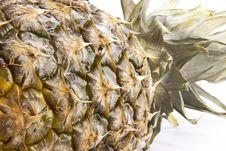 Free Pineapple Closeup Royalty Free Stock Photos - 36665518