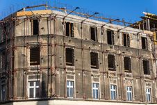 Free Old Tenement Under General Repair Stock Image - 36667181