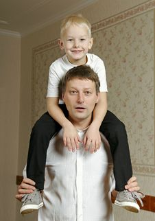 Free Father And Son. Stock Photos - 36668723