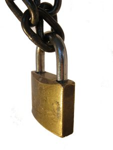 Free Lock And Chain - Detail Stock Photos - 36669353