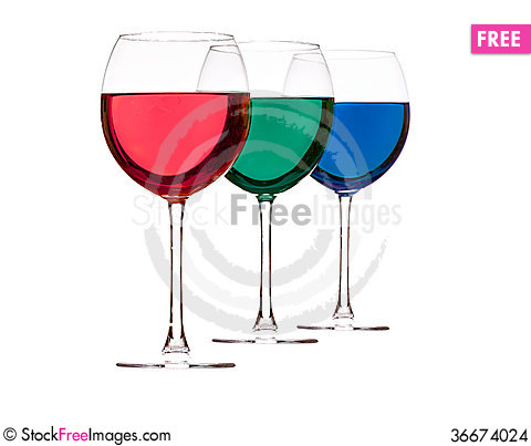 Free Colorful Drinks Stock Images - 36674024