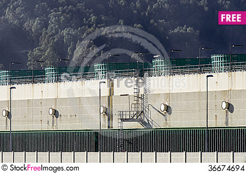 Free Production Of Electricity, Particularly Of The Central Gas Stock Images - 36674694