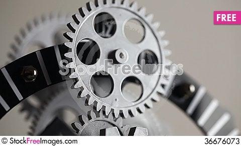 Free Clock Gears Stock Photos - 36676073