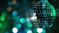 Free Light Disco Two. Seamless Loop Stock Photos - 36671383