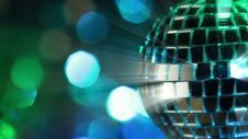 Free Light Disco Three. Seamless Loop Stock Images - 36671454