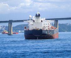 Free Big Tanker Royalty Free Stock Image - 36671456