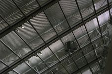 Free Roofing Warehouse Interior View. Stock Image - 36673201